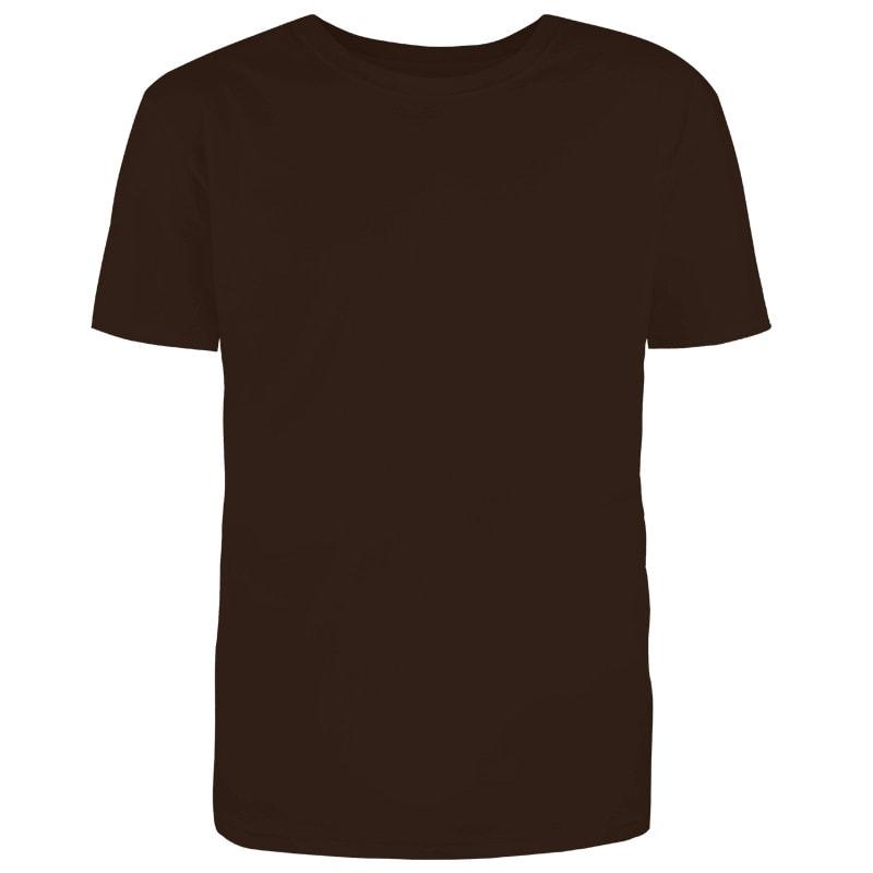 Custom Dark Chocolate Brown T-Shirt