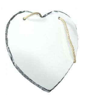 Slate Photo Print - Heart