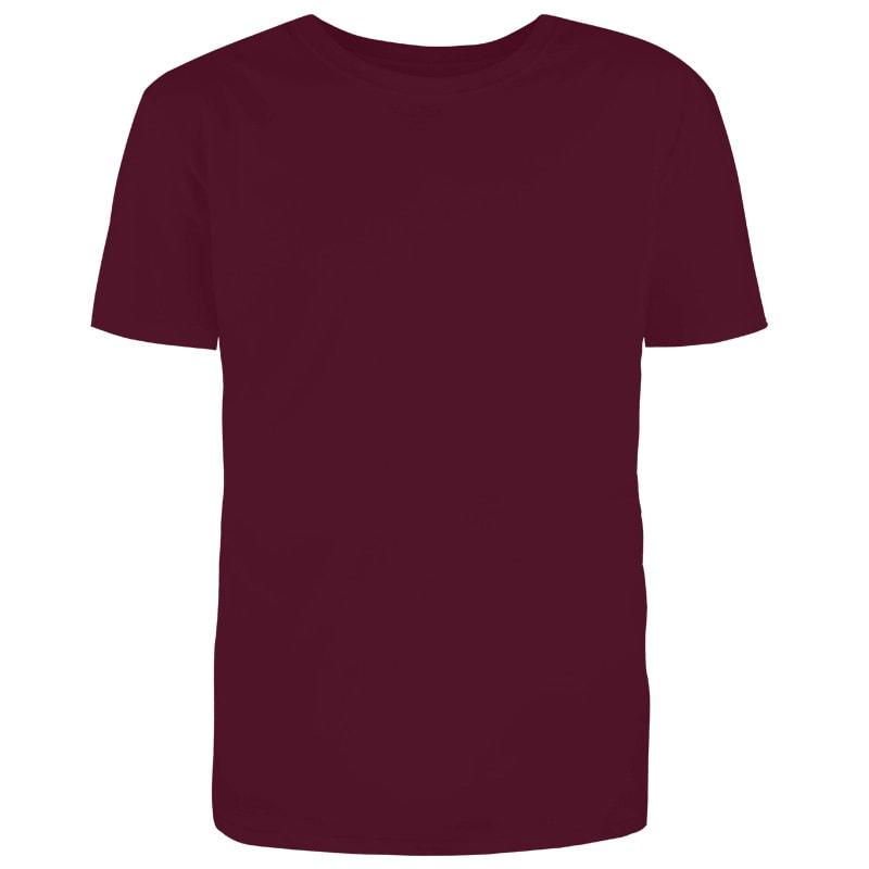 Custom Maroon Grey T-Shirt