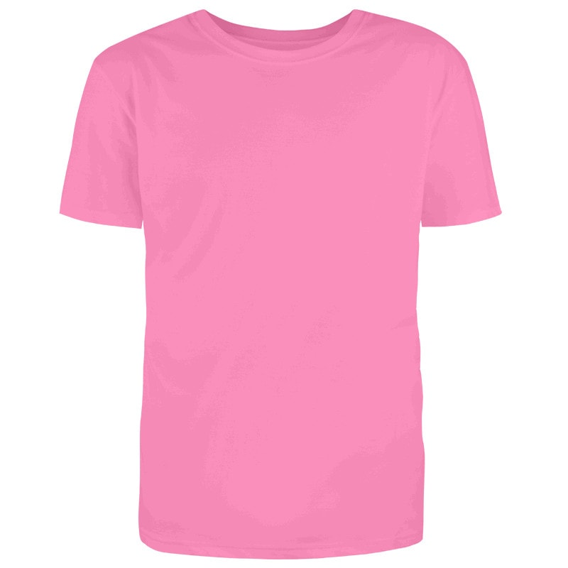 Custom Light Pink T-Shirt